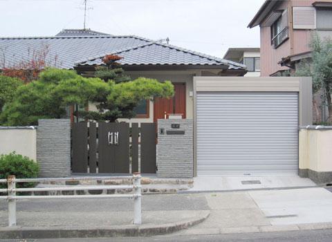 東郷町     門廻り・車庫リフォーム S様邸