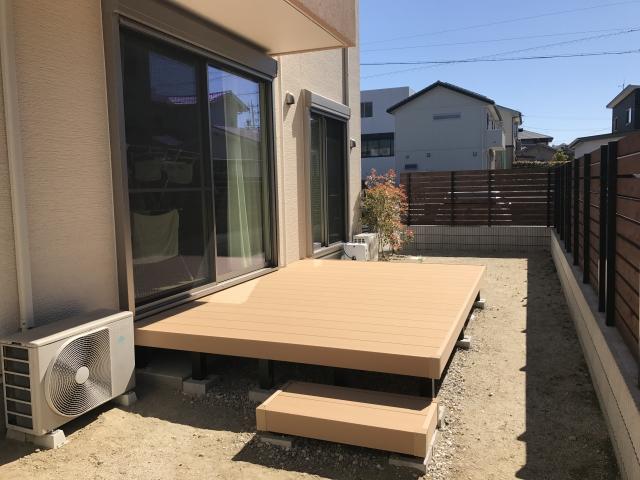 瀬戸市 YKKap リウッドデッキ 2.0間✕8尺 A様邸
