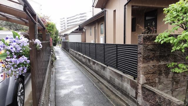 塀解体 新設フェンス リフォーム工事 T様邸