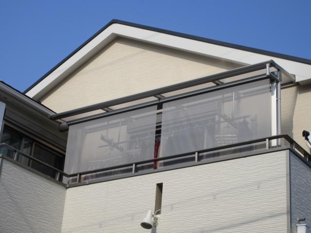 名東区 K様 2階テラス(YKKapヴェクター)+シェード