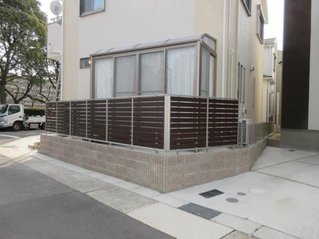 名東区 K様 サンルーム 大仙フレッシュルーフ2.0K×4尺