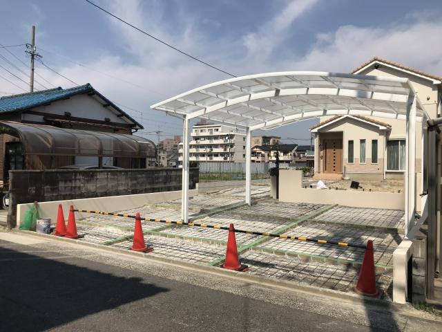 守山区 O様邸 新築外構工事 オープン外構 ディズニーフェンス