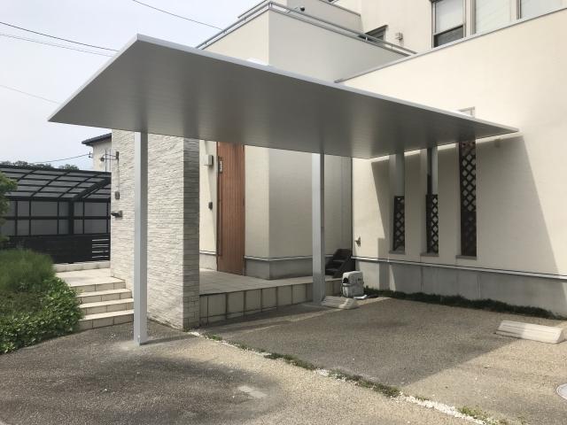 瀬戸市 LIXIL カーポートSC 1台用 27-50 ロング柱