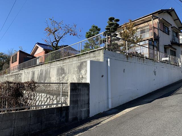 守山区 T様 植木撤去してフェンス工事 三協アルミ タウンリード2型 H800(アーバングレー) 43m