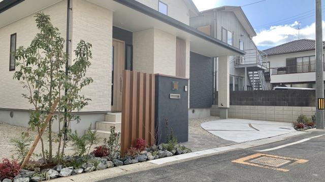 瀬戸市 新築外構工事 サーラ住宅