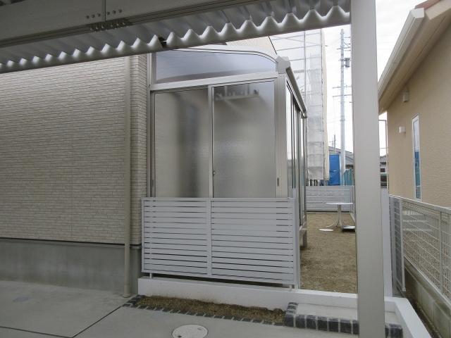 尾張旭市 H様 ガーデンルーム ソレイド1.5K×6尺 型ガラス仕様