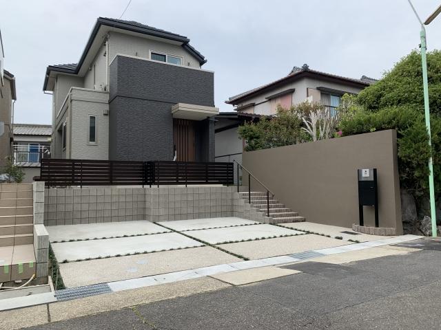名東区 トヨタホーム 新築外構工事