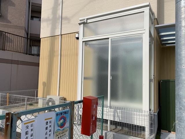 尾張旭市 サンルーム 大仙 ソレイド  Fタイプ ランマ付き 間口1.8m×出幅0.9m