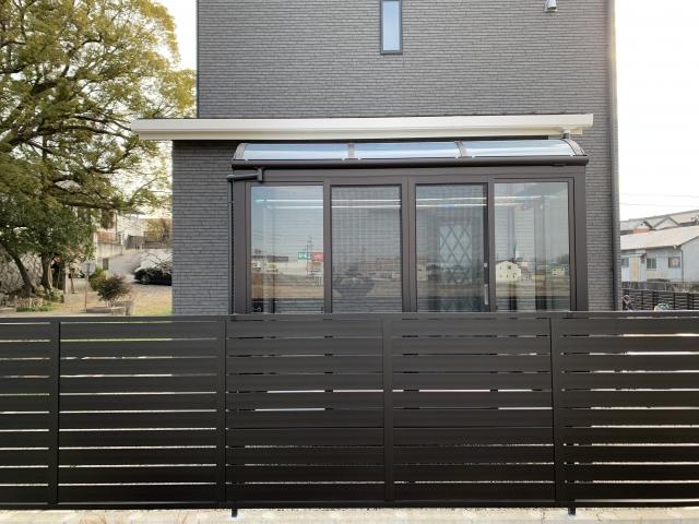 瀬戸市 サンルーム 1.5間×6尺 大仙ソレイド R型